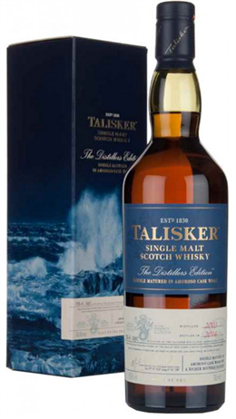 Talisker Scotch Single Malt Distillers Edition